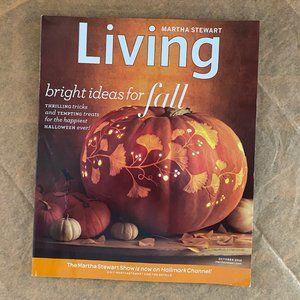 Living - Martha Stewart: Bright Ideas for Fall